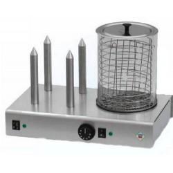 zařízení na hot dog HD 4 N s nádobkou