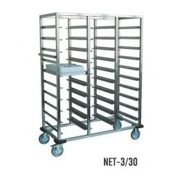 vozíky na tablety Termoline NET 3/30