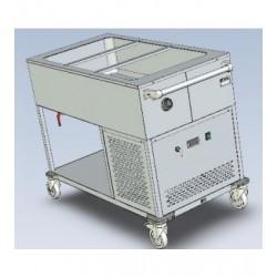 Chladicí vozík EKC 3/1 bez hyg. zákrytu pro 3x GN 1/1-200mm