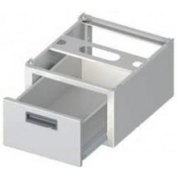 šuplík do nerez stolů ST ( nerez zásuvka )