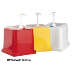 dávkovače 1 litr plast gastro