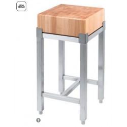 dřevěné špalky ST s nerez podstavcem