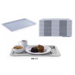 podnos jídelní GN 1/1 LUX 32,5x53 cm, mramorový