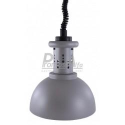 Lampa v provedení - stříbrno-šedá barva (
