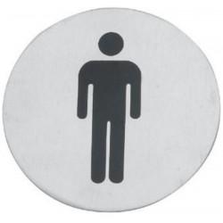 Tabulka informační WC muži