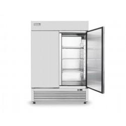 lednice dvoudveřová HE nerezová