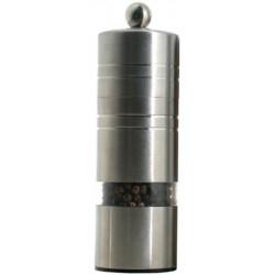 Madison mlýnek na pepř, nerez mat a transparent, 14 cm