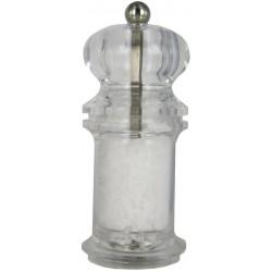 BOLÉRO mlýnek na sůl, průhledný, 13 cm