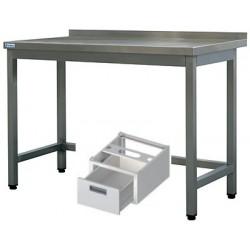 nerez pracovní stoly ST 02