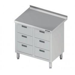 stůl 6 šuplíkový ST 023