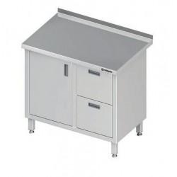 stůl 2 zásuvky a dvířka ST 031