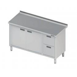 stůl 2 zásuvky, 2 dvířka ST 33