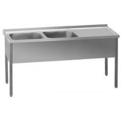 MSDOP-160x70x90/40x50 Stůl dvoudřez prav