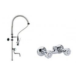 DOC 4+ - Sprcha s baterií ze zdi a s ramínkem