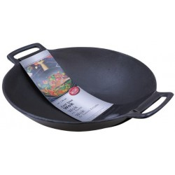 Litinová wok pánev 6,5 l