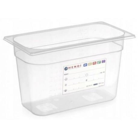 zásobník HACCP plast GN 1/3