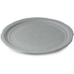 Talíř jídelní 25,5 cm - šedý