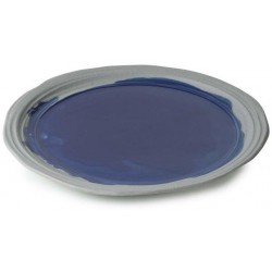 Talíř jídelní 25,5 cm - modrý