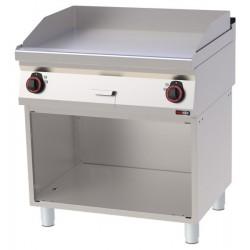 FTH 70/80 E - Elektrická grilovací deska hladká ocel.