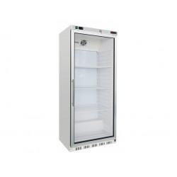HR-600G Lednice bílá, prosklené dveře