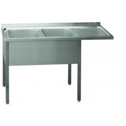MSDOP/M-160x70x90/50x40 Stůl dvoudřez pr