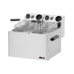 FE-44 fritéza elektrická 5+5l 220V