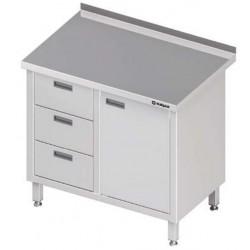 stůl 2 zásuvky a dvířka ST 042 (043)