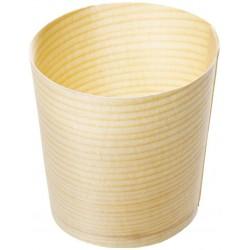 Kelímek bambusový 4,5 × 4,5 cm (50 ks)